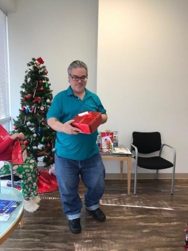 Tampa office PJs Day and Secret Santa Lunch - December 28, 2018
